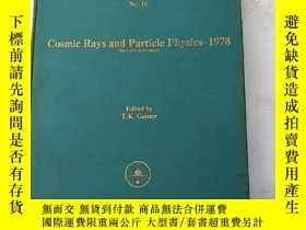 二手書博民逛書店cosmic罕見rays and particle physic
