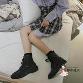 馬丁靴 早秋馬丁靴女英倫風短靴女春秋單靴網紅瘦瘦靴2019新款百搭ins潮