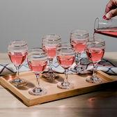 12只家用水玻璃紅酒杯高腳杯個性【中秋節85折】