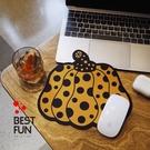 草間彌生南瓜波點藝術滑鼠墊裝飾畫芯杯墊桌墊 樂活生活館