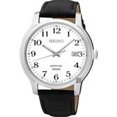 SEIKO 精工 CS系列城市戀人手錶-白x黑/41mm 7N42-0GE0C(SGEH69P1)