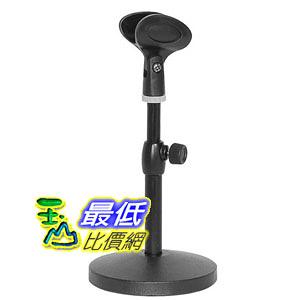 [104東京直購] KC desktop microphone stand black MDS-1500/BK 桌上型 麥克風架_U3