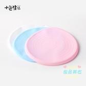 蛋糕轉盤 鋁合金裱花轉台 蛋糕轉盤 盤面保護套 硅膠保護殼 3色