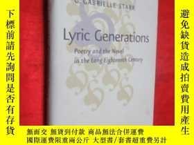 二手書博民逛書店Lyric罕見Generations: Poetry and t