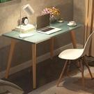 電腦桌 北歐電腦桌台式家用學習辦公寫字桌餐桌簡易現代臥室兒童實木書桌