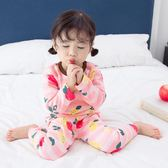 男童 裝兒童保暖內衣套裝加絨加厚長袖女寶寶睡衣衛生衣衛生褲嬰兒童趣潮品