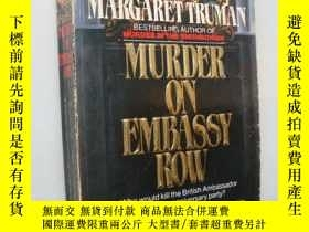 二手書博民逛書店Murder罕見on Embassy Row A Capital