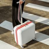 迷你行李箱女小型密碼輕便小號18寸旅行拉桿箱子男20網紅ins抖音 星河光年DF
