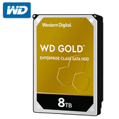 WD 威騰 金標 8TB 3.5吋企業級硬碟 WD8004FRYZ 五年保