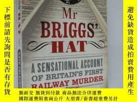 二手書博民逛書店MR罕見BRIGGS HAT:A sensational ac
