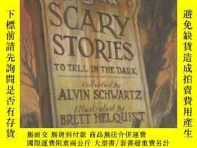 二手書博民逛書店Scary罕見Stories To Tell In The DarkY256260 Alvin Schwart