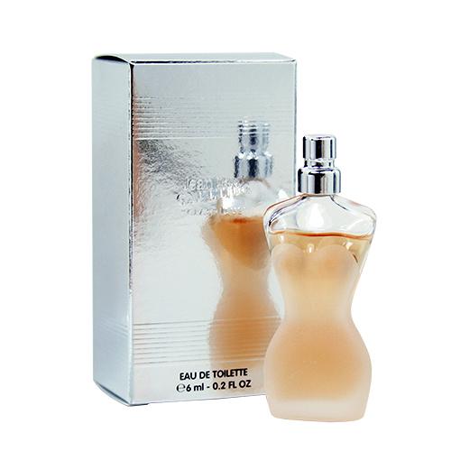【Jean Paul Gaultier 高堤耶】Classique 裸女 女性淡香水 6ml (沾式)