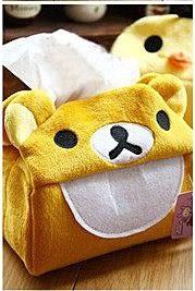 【發現。好貨】日單 拉拉熊 懶懶熊 黃色小雞手工紙巾套 面紙套