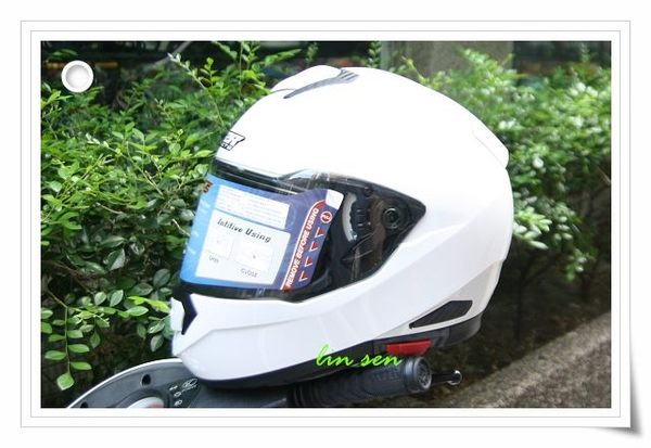 M2R安全帽,F5,素色/白