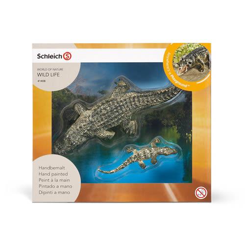 Schleich 史萊奇禮盒 - 大小鱷魚組_SH41408