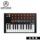 【南紡購物中心】鍵盤控制器 Arturia MiniLab MkII MIDI鍵盤 限量橘旋鈕