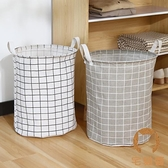 布藝玩具收納桶折疊髒衣籃髒衣服收納筐家用髒衣簍洗衣籃【宅貓醬】