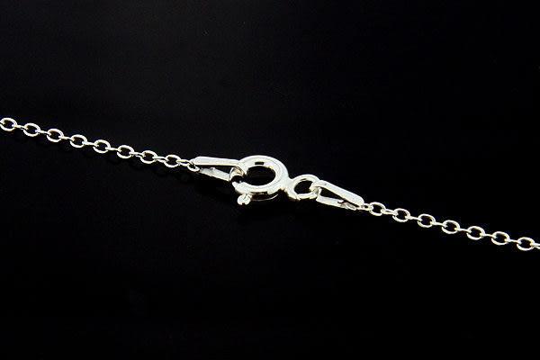 義大利進口925銀項鍊,18吋基本款繩索單鍊 (cable chain),DeeDee Jewellery 生日禮物、母親節禮物