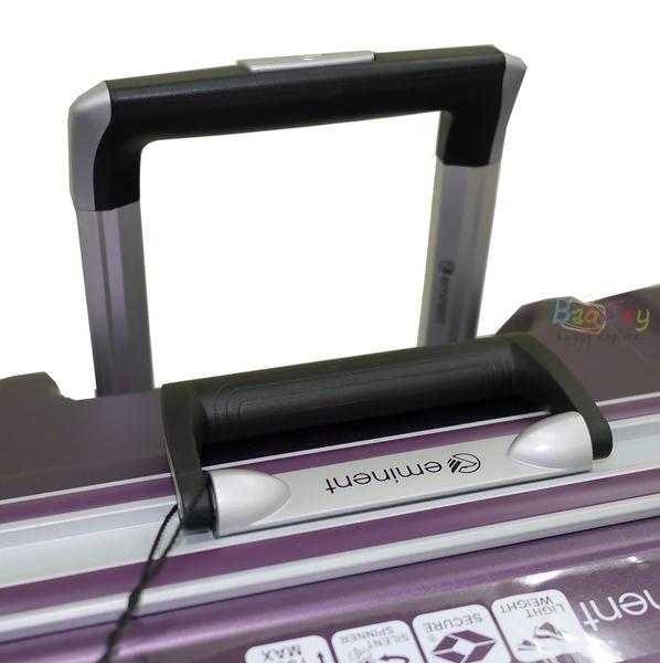 (送旅行袋) 萬國通路 雅仕EMINENT 9Q3 25吋 霧面鋁框 PC材質 行李箱