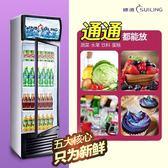 穗凌LG4立式冰櫃飲料展示櫃商用冰箱單門冷櫃保鮮冷藏櫃風冷惠凌igo 【Pink Q】