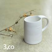 【3 co】水波馬克杯 - 白