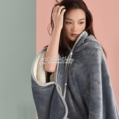 披肩毛毯法蘭絨毯羊羔絨雙層加厚珊瑚絨懶人學生午睡毯小毯子季 SUPER SALE 快速出貨