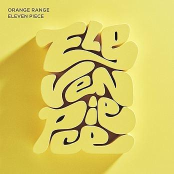 ORANGE RANGE 橘子新樂園 ELEVEN PIECE CD附DVD 免運 (購潮8)