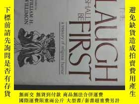 二手書博民逛書店and罕見the laugh shall be first:a treasury of religious hum