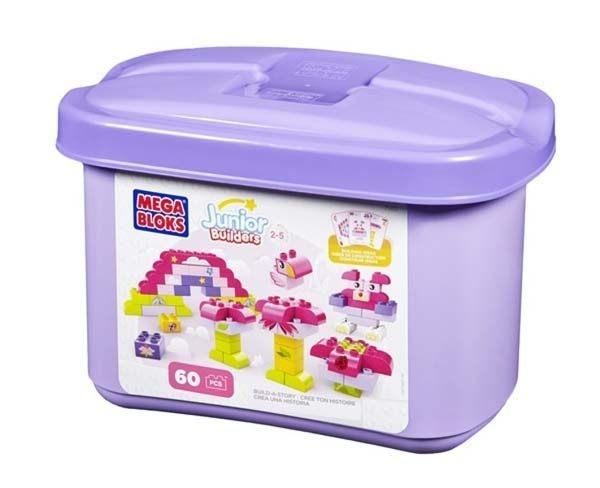 MEGA BLOKS 高無限想像小積木系列(紅收納盒/紫收納盒)