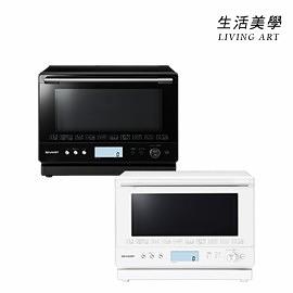 夏普 SHARP【RE-WF261】水波爐 烤箱 26L 微波烤箱 解凍 操作簡單 濕度感應器 熱風對流 甜點烘烤