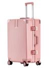 行李箱行李箱網紅女萬向輪韓版20寸24學生鋁框男拉桿旅行密碼LX 晶彩 99免運