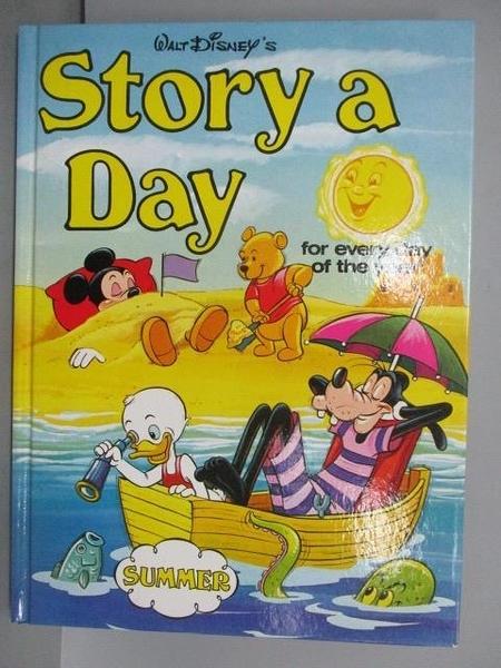 【書寶二手書T3/少年童書_EOF】Story a Day-Summer