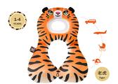 以色列 BENBAT 寶寶旅遊頸枕1~4歲 老虎