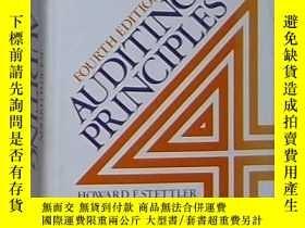 二手書博民逛書店英文原版罕見Auditing Principles by How