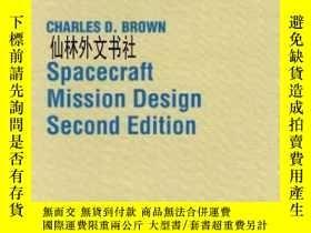 二手書博民逛書店【罕見】1998年出版 Spacecraft Mission DesignY27248 Charles D.