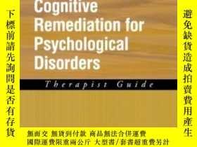 二手書博民逛書店Cognitive罕見Remediation For Psychological Disorders: Thera