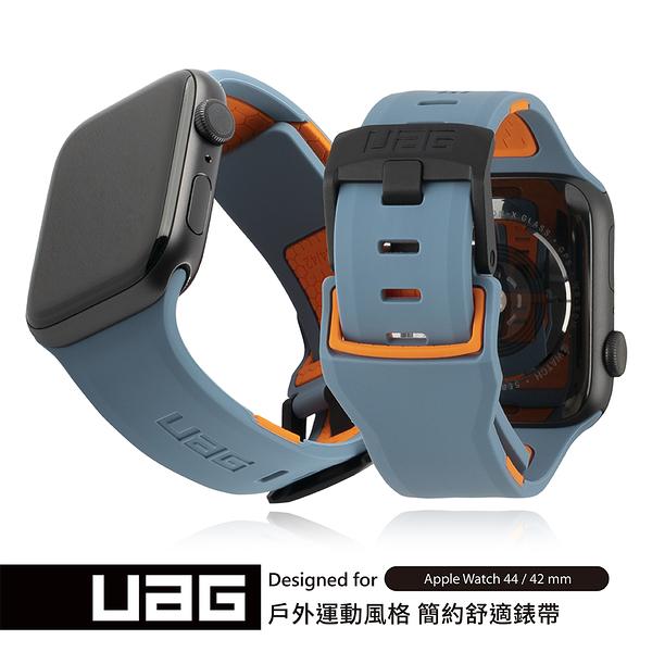 UAG Apple Watch 42/44mm 簡約舒適錶帶-藍