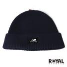 New balance 藍色 針織 毛線帽NO.H3138【新竹皇家 LAH03013TNV】