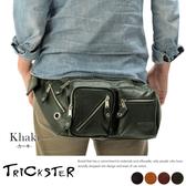 現貨【TRICKSTER】日本品牌 斜背包 腳踏車包 腰包 A4 單肩背包 復古皮革感 都會潮流 tr24