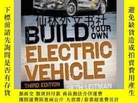 二手書博民逛書店【罕見】Build Your Own Electric Vehi