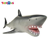 玩具反斗城 ANIMAL ZONE 塑膠大型鯊魚玩具