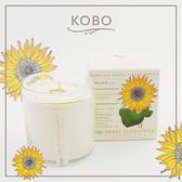 【KOBO】美國大豆精油蠟燭 - 甜心向日葵-280g/可燃燒60hr