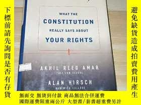 二手書博民逛書店FOR罕見THE PEOPLE WHAT THE CONSTITUTION REALLY SAYS ABOUT Y