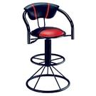 ONE HOUSE-肯比吧台椅(紅黑)