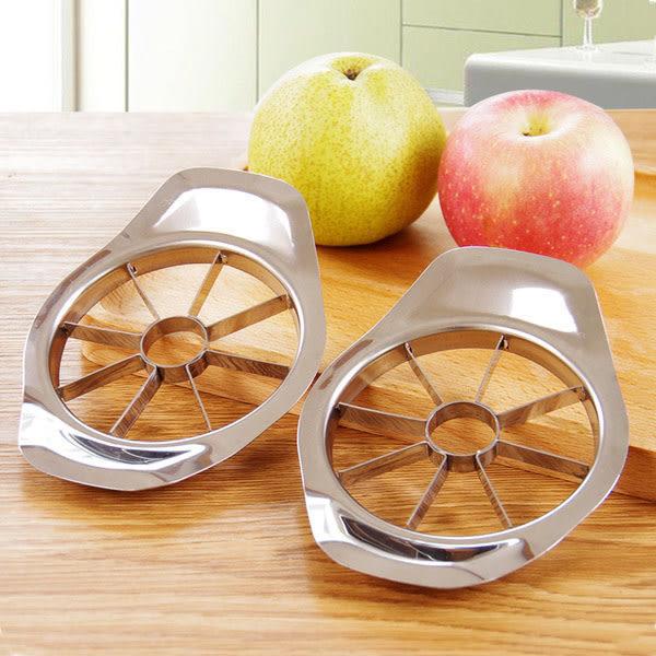 Qmishop 優質不銹鋼切水果器/削蘋果器/切蘋果器/蘋果型分瓣去核器【J2130】