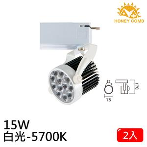 HONEY COMB LED 15W 軌道式燈具 2入一組TK6103-6 白光