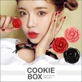 韓國 3CE 玫瑰 花瓣 潤唇膏 0.7g 潤色 護唇霜 有色 唇彩 造型 內有小鏡子 限量 新款 *餅乾盒子*