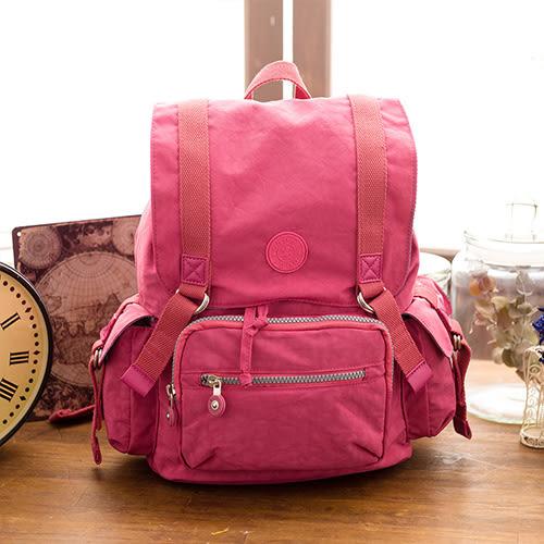 【COUNT DUCK】美系悠活輕量樂趣郊遊後背包-CD-023-野莓色