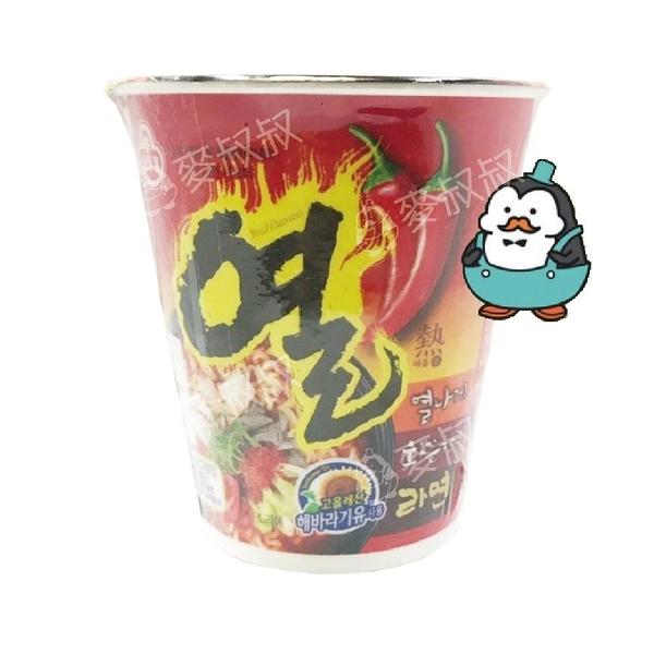 韓國不倒翁 OTTOGI辛辣杯麵1入韓國泡麵