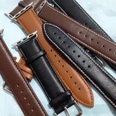 適用apple watch1/2錶帶 蘋果手錶錶帶 iwatch3手錶真皮錶帶男女